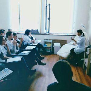 мастер-класс по косметологии от Туменбаевой Асем