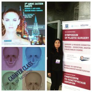 Aesthetic anti-aging medicine world congress Туменбаева Асем