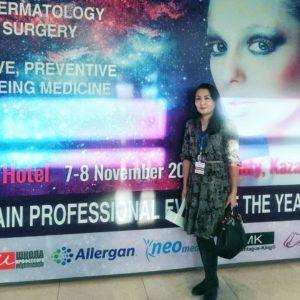Anti-aging medicine international summit Туменбаева Асем